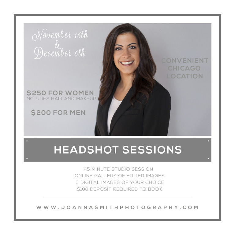 Chicago Professional Headshot Sessions